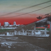 """$760 unframed (for diptych pair), 23 x 36"""""""